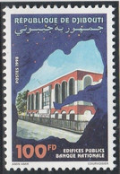 DJIBOUTI 1998 - Yvert N° 736 D (Michel N° 669) Edifices Publics (banque Nationale) - Neuf** - 1er Choix (Lot 27) - Djibouti (1977-...)