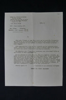 GUERRE 1939/45 - Lettre De Banque Pour Ouvertures Des Coffres Forts En Zone Occupée Par Les Allemands - L 85071 - Documentos