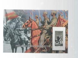 La Guerra Civil Española En Sellos De Correos: Juego 1 Sellos: Pro Movilizados Marruecos - Sin Clasificación
