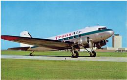 Postkarte TRANS AIR (Canada) - Douglas DC-3 (Airline Issue) - 1946-....: Modern Era