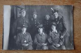 Carte Photo Guerre 1914 1918  Troupes Commonwealth  Beau Plan - Guerra, Militari
