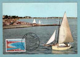 Carte Maximum 1967 - La Baule -YT 1502 - 44 La Baule - 1960-69