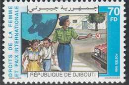 DJIBOUTI 1998 - Yvert N° 739 A (Michel N° 662) Droits De La Femme Et Paix Internationale - Neuf** - 1er Choix (Lot 29) - Djibouti (1977-...)