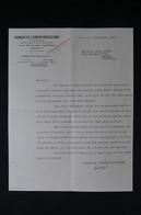 GUERRE 1939/45 - Lettre D'une Banque Pour Obtention Du Pouvoir Et Des Clefs D'un Coffre Fort En 1941 - L 85073 - Documentos