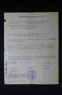 GUERRE 1939/45 - Fiche D'Etat De Service Dans Les FFI (Résistant Dans Groupe Delavoix ) Fait à Paris En 1945 - L 85074 - Documentos