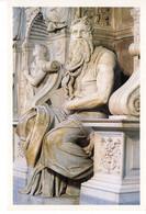 Italie Italia Lazio Rome Roma Mose Di Michelangelo Michel Angelo Statue Patrimoine Edifice Monument Histoire - Autres Monuments, édifices