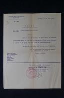 GUERRE 1939/45 - Ordre De Débarquement D'un Sous-Marinier (SM CIRCE) Pour Démobilisation En 1940 à Toulon - L 85075 - Documentos