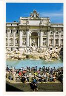 Italie Italia Lazio Rome Roma Fontana De Trevi Fontaine Maison Batiment Edifice Sculpture Patrimoine Histoire - Fontana Di Trevi