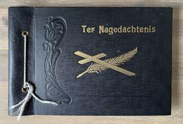 Uitvaart Te Betekom - Begrafenis Foto-reportage Album Met 26 Foto's Door Filmex Uit Mechelen - Personas Anónimos