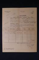 GUERRE 1939/45 - Titre De Perception De Retenues Pour Pensions D'un Chef De Bataillon En 1943 - L 85078 - Documentos