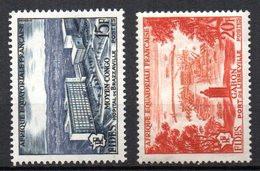 Col3 :  AEF Afrique : N° 234 & 235  Neuf X MH  Cote : 1,80 Euro - Neufs