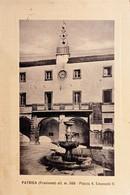 Cartolina - Patrica ( Frosinone ) - Piazza V. Emanuele II - 1958 - Frosinone