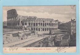 ROMA  -  COLOSSEO  VEDUTO  DAL  PALATINO  -  1904  - - Non Classés