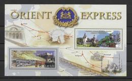 Rumänien 2010 Orient Express Block 478 ** - Unused Stamps