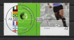 Uruguay 2002 Fußball Mi.Nr. 2659/60 ** - Uruguay