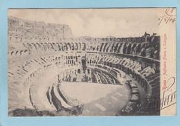 ROMA  -  ANFITEATRO  FLAVIO  O  COLOSSEO   -  1904  - - Non Classés