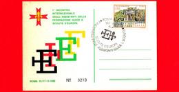 ITALIA - 1982 - Cartoncino - FSE - Scout - Incontro Assistenti - Annullo Del 16-11-1982 - Roma - 1981-90: Marcophilie