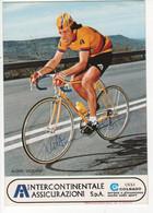 VITTORIO ALGERI SIGNEE INTERCONTINENTALE ASSICURAZIONI - Cycling
