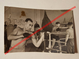 Photo Vintage. Original. Érotique. Boxer Musclé Semi-nude. Lettonie - Unclassified