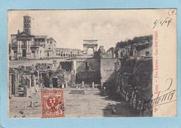 ROMA  - FORO  ROMANO  -  CASA  DELLE  VESTALI  -  1904  - - Non Classés