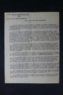 GUERRE 1939/45 - Avis à La Population De La Défense Passive Pour Consignes Lors Des Alertes Aériennes - L 85082 - Documentos