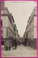Cpa Rennes La Rue Beaumanoir Carte Postale 35 Ille Et Vilaine Peu Courante - Rennes