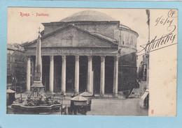 ROMA  -  PANTHEON  -  1904  - - Non Classés