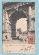 ROMA  -  IL  COLOSSEO  VEDUTO  DALL ' ARCO  DI  TITO  -  1904  - - Non Classés