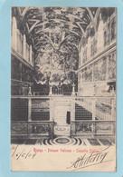 ROMA  -  PALAZZO  VATICANO  -  CAPPELLA  SISTINA  -  1904  - - Non Classés
