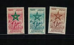 MAROC-Yvert  P.A. N° 103/105 - Morocco (1956-...)