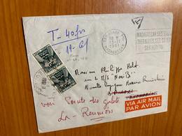 Lettre De 1961 -de Madagascar Pour La Réunion - Brieven En Documenten