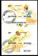 BULGARIA 1990  Olympic Games Imperforate Block Used.  Michel Block 211B - Gebraucht