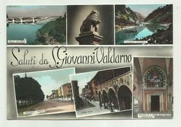 SALUTI DA S.GIOVANNI VALDARNO - VIAGGIATA  FG - Arezzo