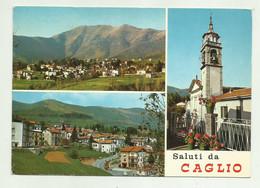 SALUTI DA CAGLIO  - VIAGGIATA  FG - Como