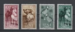(S0346) IFNI, 1960 (Animals). Complete Set. Mi ## 188-191. MNH** - Ifni