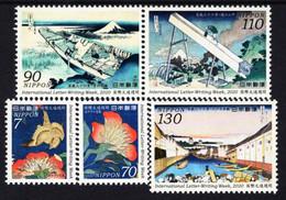 Japan - 2020 - International Letter-Writing Week - Mint Stamp Set - Ongebruikt