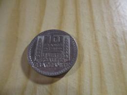 France - 10 Francs Turin 1946 ,grosse Tête,rameaux Courts.N°1706. - K. 10 Franchi