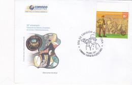 ARGENTINA, FDC. 50º ANIVERSARIO FEDERACION OBREROS Y EMPLEADOS DE CORREOS Y TELECOMUNICACIONES. AÑO 2007 -LILHU - Autres