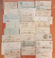 France - Lot De 25 Lettres Précurseurs - Depart 1 Euro - - 1801-1848: Precursors XIX
