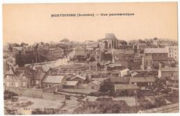 MONTDIDIER SOMME : VUE PANORAMIQUE - EDITION PHOTO COMBIER - Montdidier