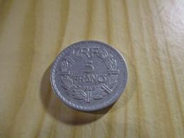France - 5 Francs Lavrillier 1949 Alu.N°1716. - J. 5 Francs
