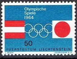 LIECHTENSTEIN #   FROM 1964 STAMPWORLD 441** - Unused Stamps