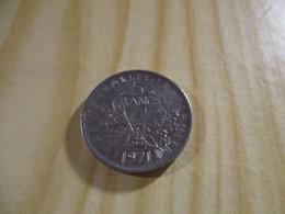 France - 5 Francs Semeuse 1971.N°1718. - J. 5 Francs