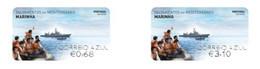 Portugal ** & Labels, Mediterranean Rescues, Navy 2020 (8924) - Otros