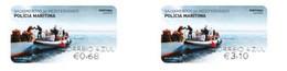 Portugal  ** & Mediterranean Rescues, Maritime Police 2020 (8924) - Viñetas De Franqueo (ATM/Frama)