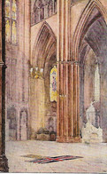 Mrs, H Barclay  -  Tomb Of The Unknown Warrior In Westminster Abbey In London. - Altre Illustrazioni