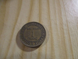 France - 1 Franc Chambres De Commerce 1920.N°1726. - H. 1 Franc