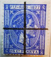 Puerto-Rico - Colonies Espagnoles - 1877- Y&T N°16 - 25 C. Outremer -  Annulé - Porto Rico