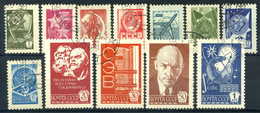 Union Soviétique 1978 Oblitéré 100% Commandes Et Symboles - Usados