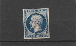 N° 14 A  -  PC 1759  /  LONS LE SAULNIER   (38) JURA   - REF 14017  + VARIETE - 1853-1860 Napoleon III
